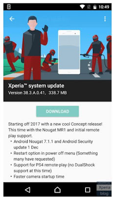 Sony Pushed Out The Android 7.1.1 Nougat Concept Build For Xperia X
