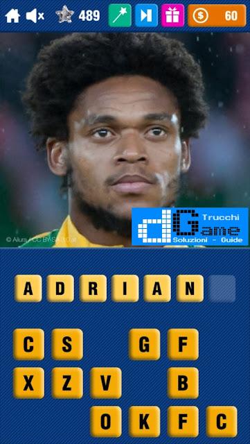Calcio Quiz 2017 soluzione livello 481-490 | Parola e foto