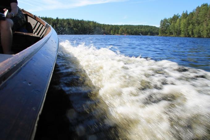 Repoveden venetaksi Kuutinkolo / Kouvola kesä 2018