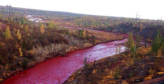 Rio fica vermelho da noite pro dia e intriga russos - Capa