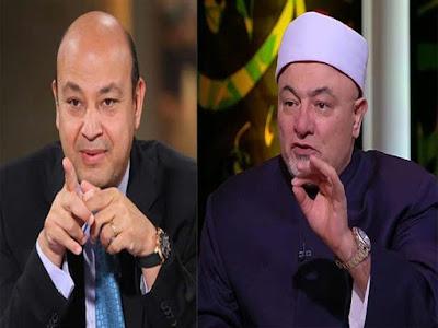 خالد الجندى, عمرو اديب, ضرب الاخوان قفا, الاخوان المسلمين,