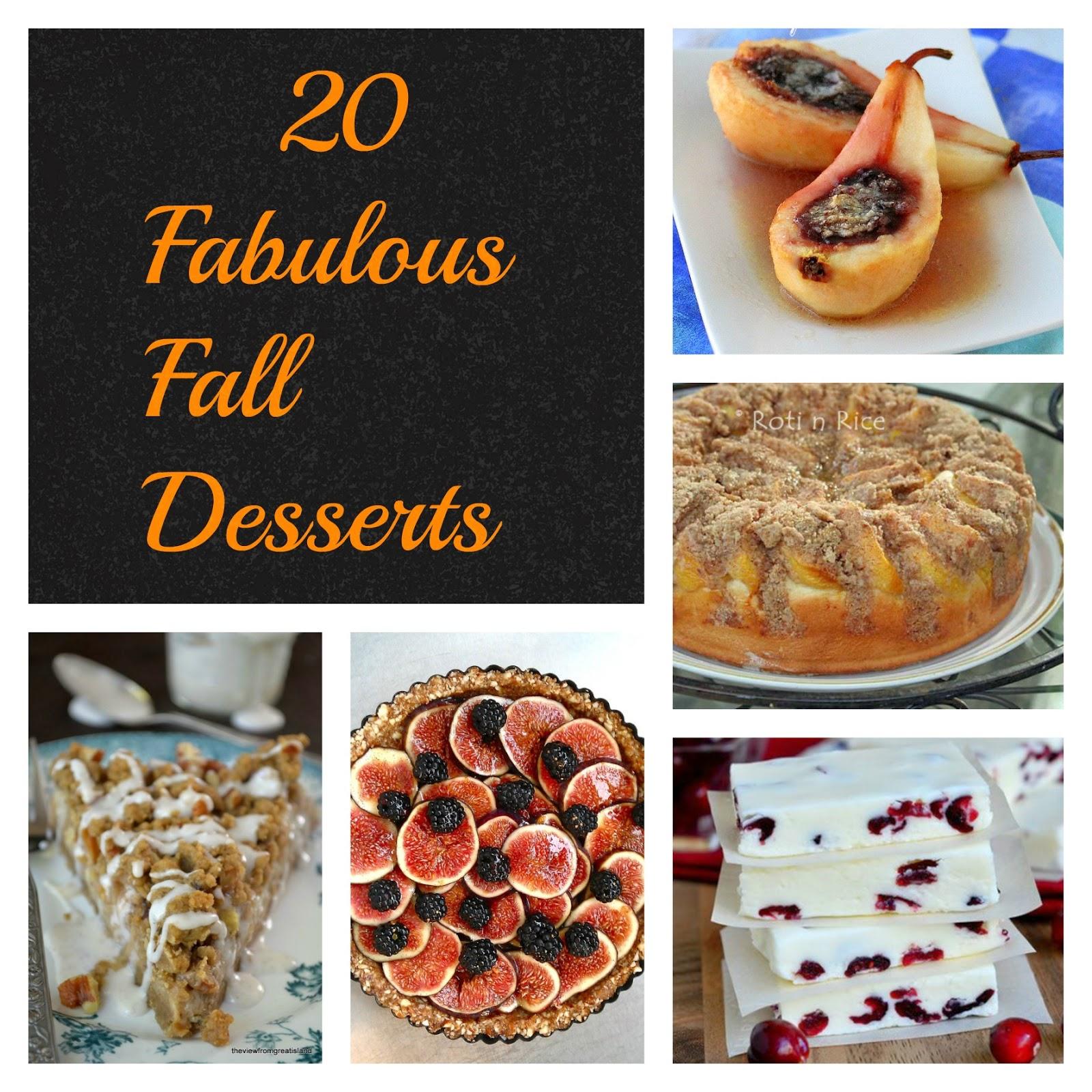20 Fabulous Fall Desserts