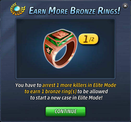 Criminal Case Elite Mode