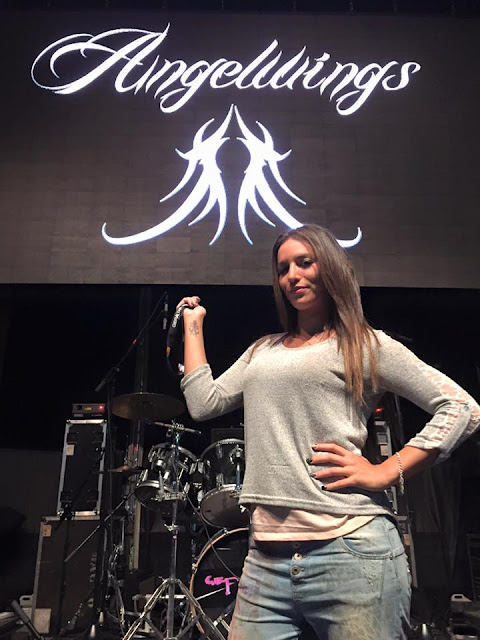 Ladies of Metal: Davinia Cano (Angelwings), Ladies of Metal, Davinia Cano, Angelwings