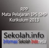 RPP IPS SMP | Kurikulum 2013