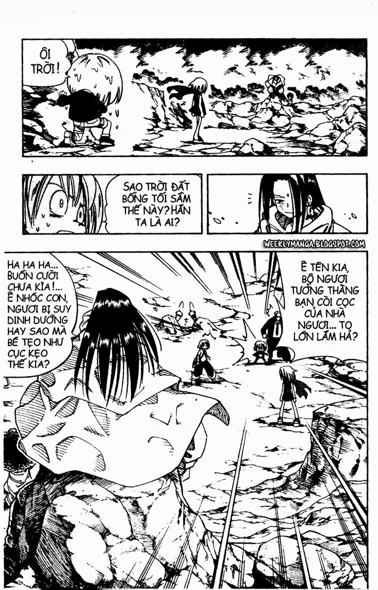 Shaman King [Vua pháp thuật] chap 106 trang 4