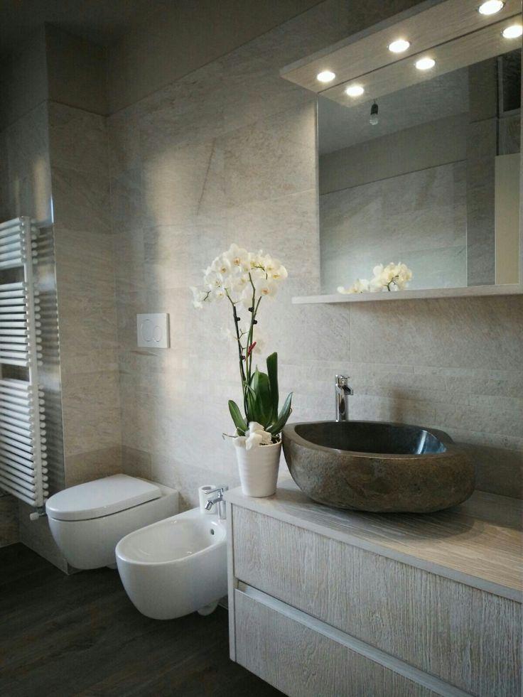 Favoloso Consigli d'arredo: Un bagno in stile naturale con i lavabi in pietra VO32