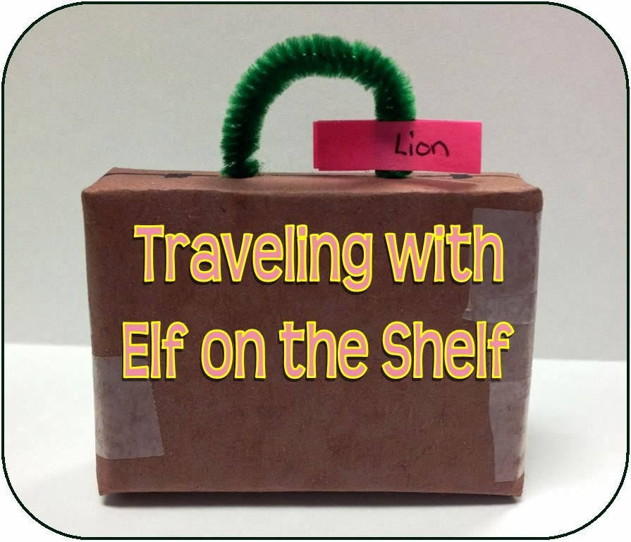 Life In Random Bits Traveling With Elf On The Shelf Plus