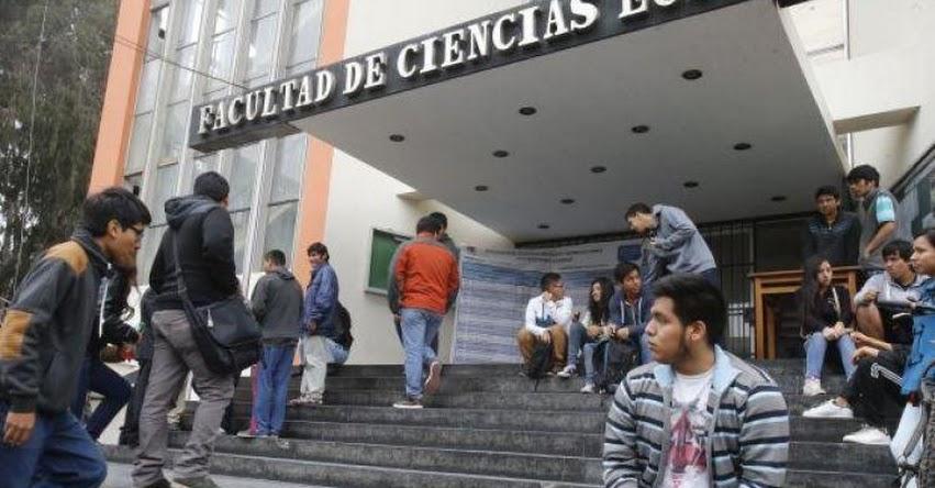 UNMSM: Todos los alumnos de la Universidad San Marcos llevarán Estudios Generales