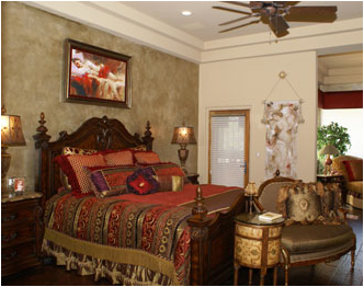 Key Interiors by Shinay: Old World Bedroom Design Ideas