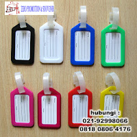 Name Tag Karet, Hang Tag Karet, Bagtag Rubber, Name Tag Koper Bahan Karet