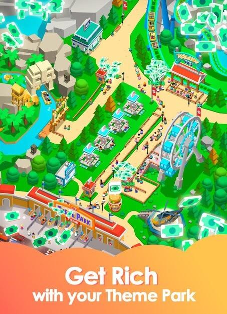 Baixar Idle Theme Park Tycoon v 2.4.2 apk MOD