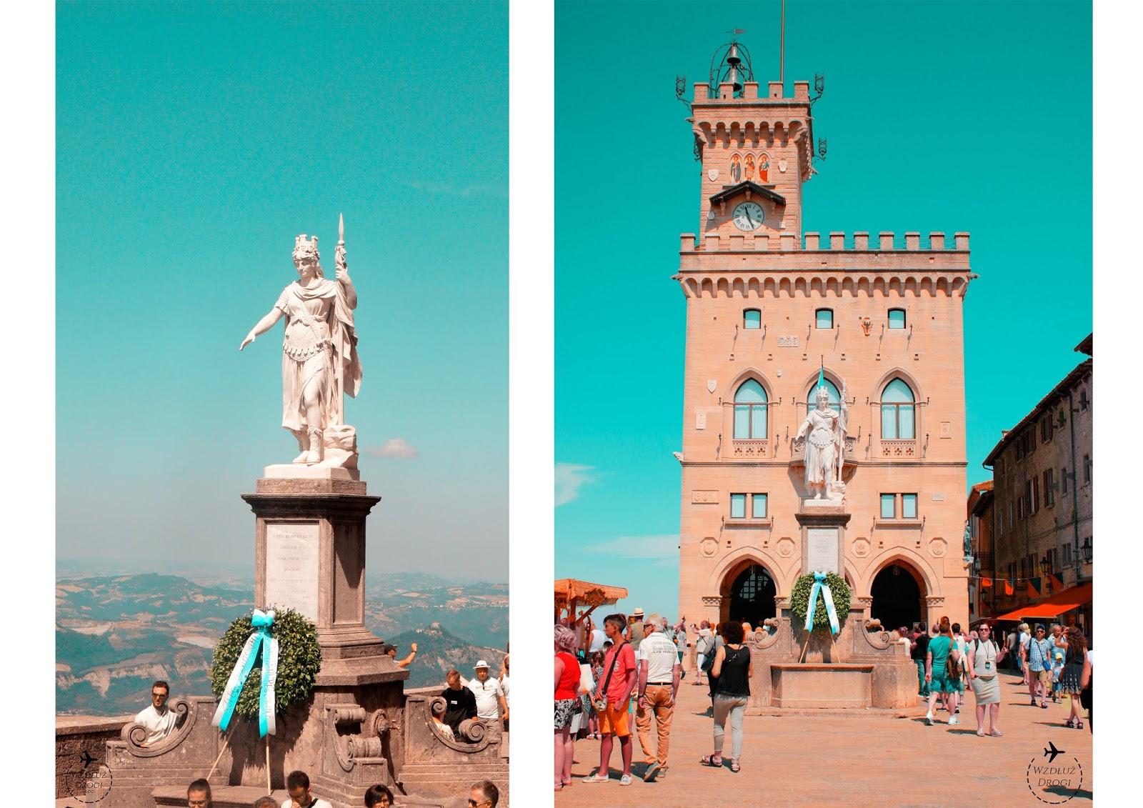 Ratusz Palazzo Pubblico w San Marino