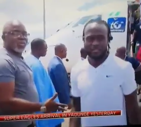 Sport: Musa, Moses deny snubbing Pinnick as video goes viral