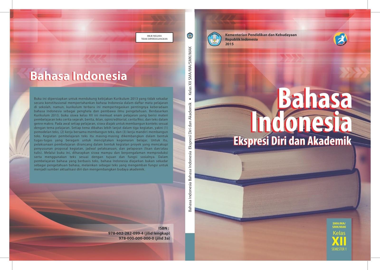 Jawaban Buku Paket Bahasa Indonesia Kelas 12 Halaman 9 22 Semester 1 Materi Kelas