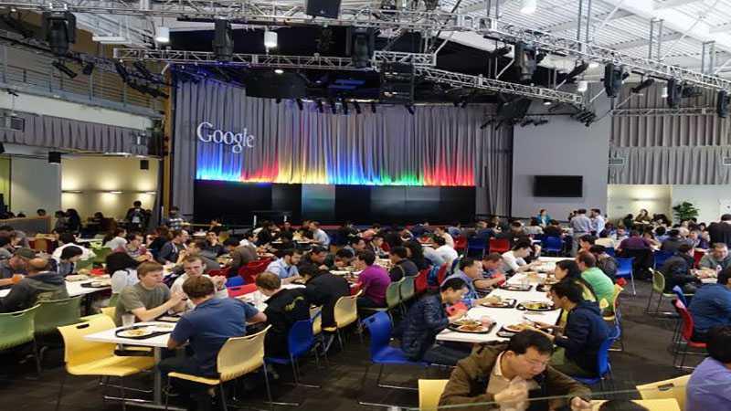 Cafetaria Googleplex
