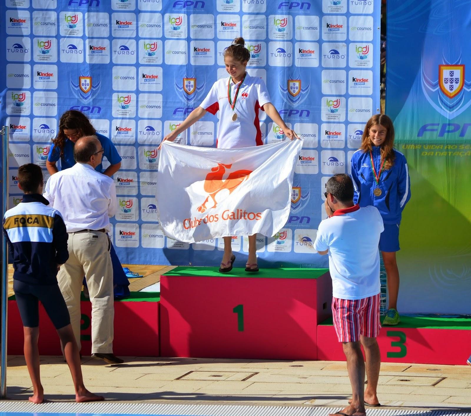Natação: Campeonatos Nacionais de Infantis