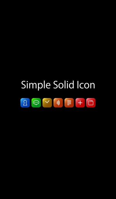Simple Solid Icon