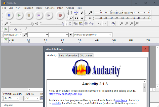 Download Audacity 2.1.3 free