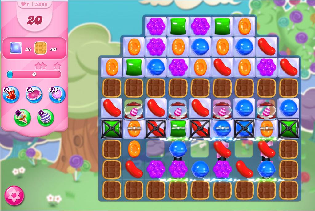 Candy Crush Saga level 5969