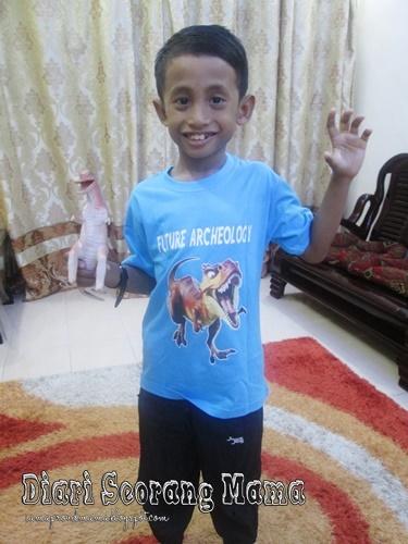 Cetak Baju Express Mencetak T-shirt Untuk Kanak-Kanak