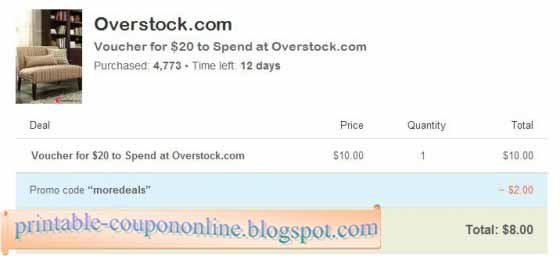 Overstock coupon code november 2018