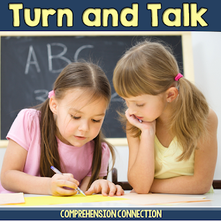 You've been hearing about turning and talking. Check out this post to see how teachers are using it as a way to work out student thinking during whole group and small group instruction.