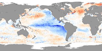 Temperatura en el oceano