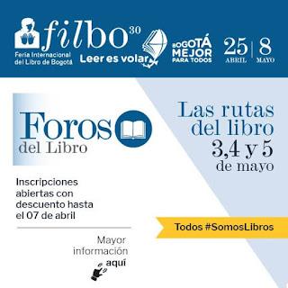 FOROS DEL LIBRO EN LA FILBO 2017
