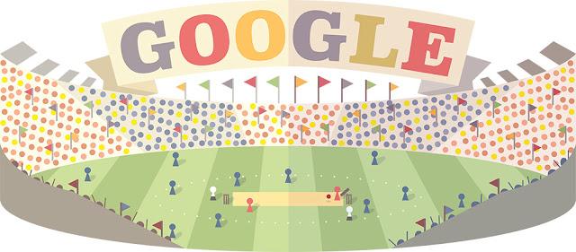 ICC World Twenty20 Opening Day 2016 - Google Doodle