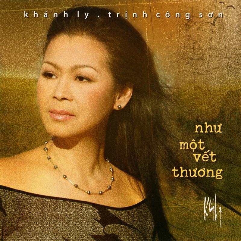 Khánh Ly CD - Như Một Vết Thương (NRG) + bìa scan mới