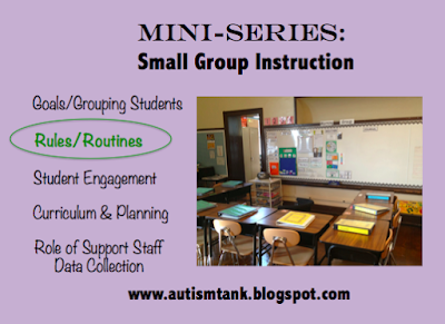 Mini Series: Small Group Instruction Rules and Routines