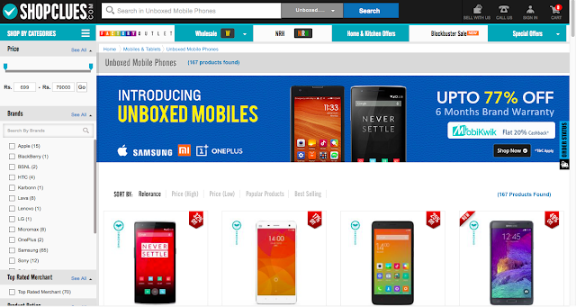 ShopClues launches 'Unboxed' phone category to lure more customers to its platform