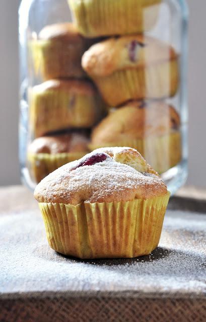 Muffins mit Trauben