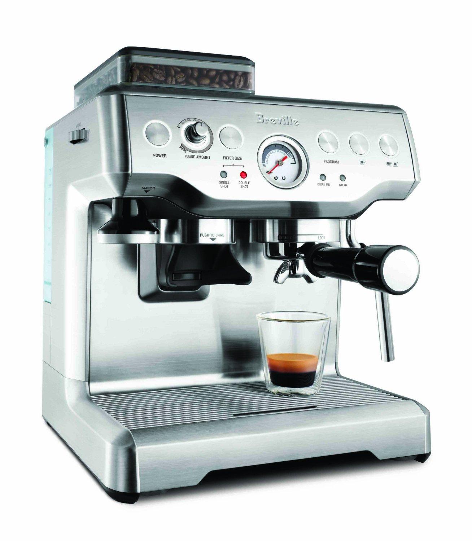 BUY BREVILLE BES860XL BARISTA EXPRESS ESPRESSO MACHINE AT ...