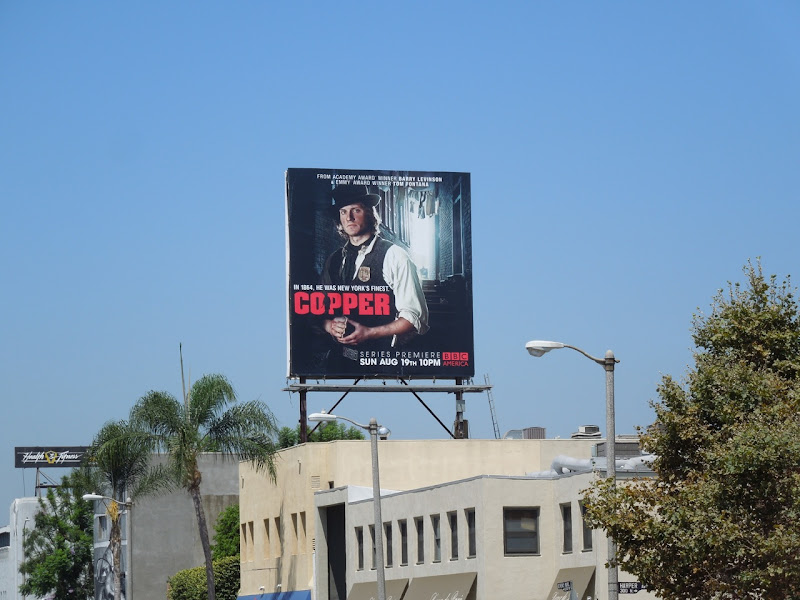 Copper season 1 billboard