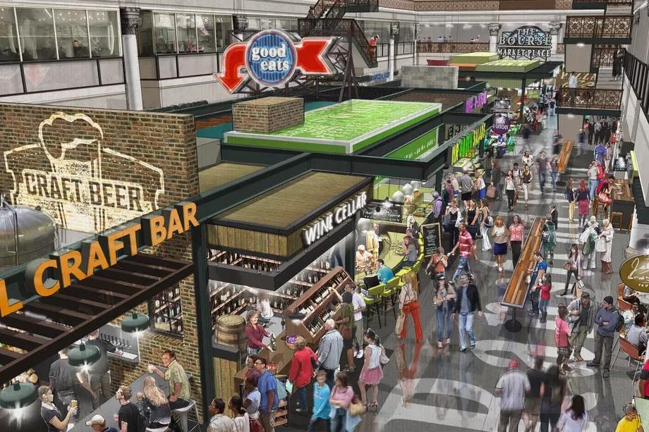 Gluten Free Mall Food Court