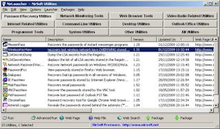 NirLauncher 1.19.84 Screenshot