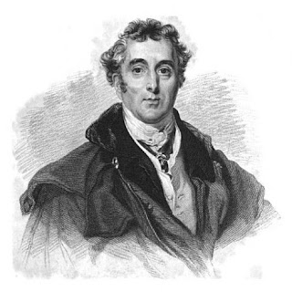 Arthur Wellesley, 1st Duke of Wellington,  from Life of Field Marshal, his Grace the Duke of Wellington by JE Alexander (1840)