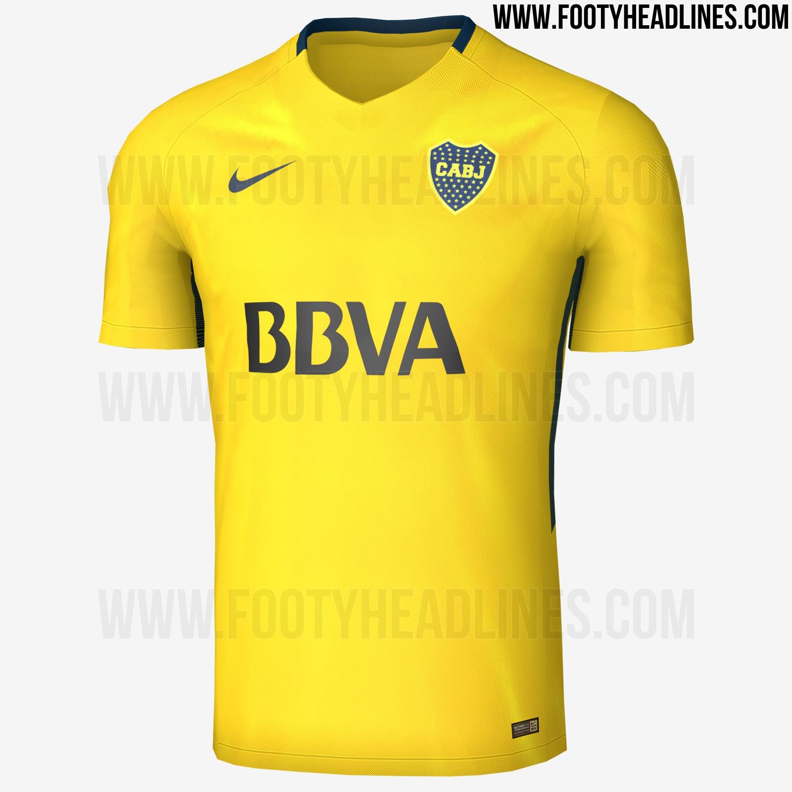 Revelados uniformes de local y visitante de Boca Juniors 17-18 ...