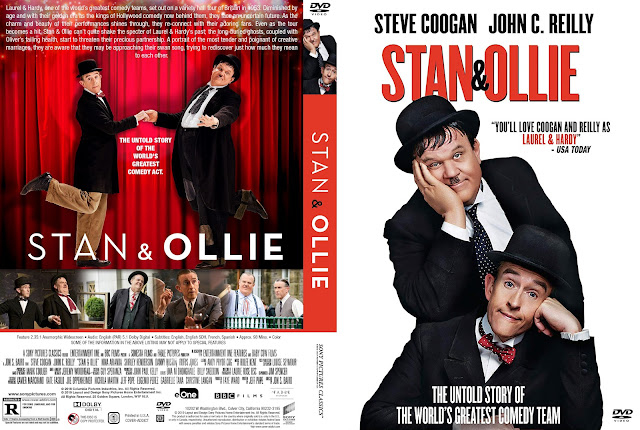 Stan & Ollie DVD Cover