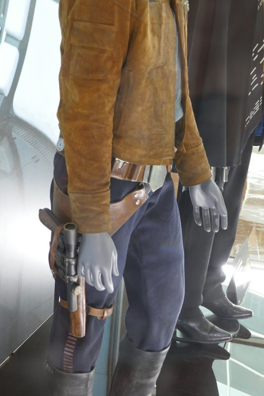 Han Solo holster costume detail