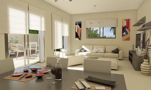 Decoración Interior: salón comedor | Ideas para decorar ...