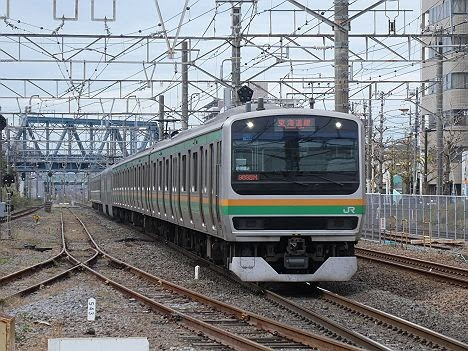 東海道線 横浜駅折り返しの様子!