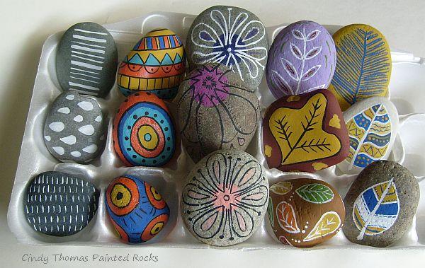 Painting Rock Amp Stone Animals Nativity Sets Amp More 5