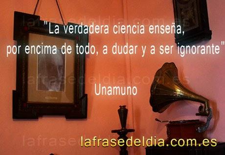 Frases famosas de Miguel de Unamuno