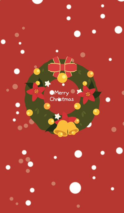 Red Merry Christmas Theme