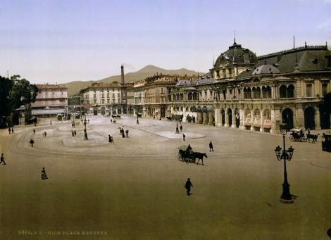 Plaza Massena en 1895