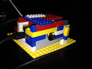 Raspberry Pi in Lego Enclosure