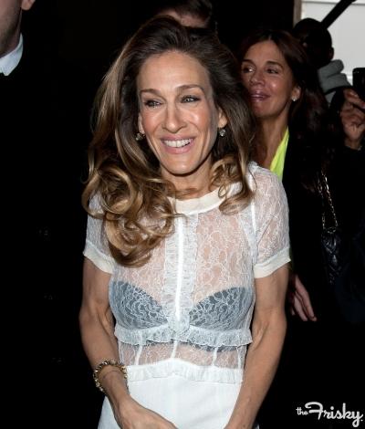 Trend: Spotted: Celebrities Wearing Sheer
